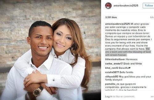Valencia khẳng định vẫn rất yêu vợ con mình. (Ảnh: Internet)