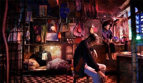 """Những """"chuồng cũi"""" nổi tiếng tại Hồng Kông"""