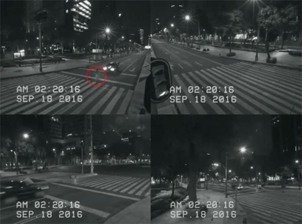 Vụ việc ô tô đâm xuyên bóng ma thiếu nữ được CCTV ghi lại vào ngày 18/9 vừa qua.