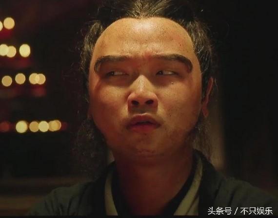 Hà Văn Huy trong bộ phim do Châu Tinh Trì thực hiện năm 2013. Ảnh: Weibo.
