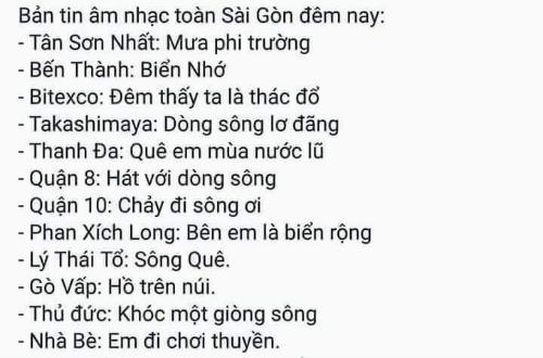 Khi Sài Gòn thành chủ đề của những tình khúcmưa.
