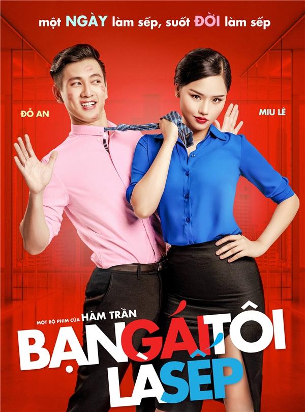 Mới đây, bộ phim cũng vừa công bố teaser poster với sự xuất hiện ấn tượng của hai diễn viên chính Miu Lê - Đỗ An. - Tin sao Viet - Tin tuc sao Viet - Scandal sao Viet - Tin tuc cua Sao - Tin cua Sao