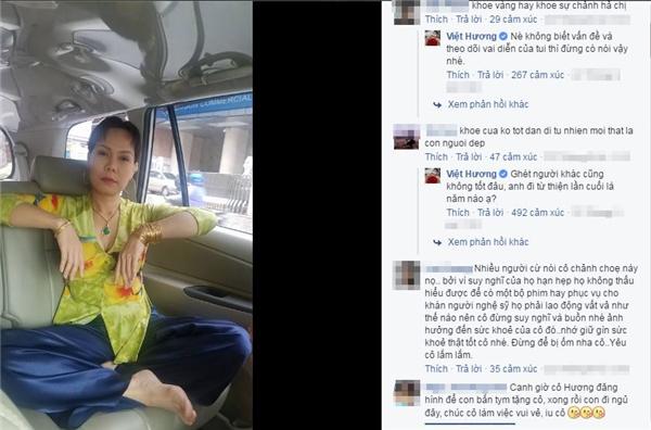 Không lâu sau khi đăng tải, bức ảnh của Việt Hương đã nhận không ít chỉ trích từ cộng đồng mạng. - Tin sao Viet - Tin tuc sao Viet - Scandal sao Viet - Tin tuc cua Sao - Tin cua Sao