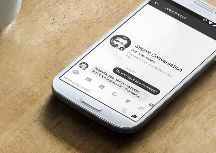 Facebook chính thức phát hành tính năng tin nhắn tự hủy. (Ảnh: internet)