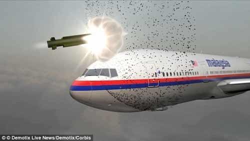 Tên lửa Buk do Nga chế tạo là nguyên nhân gây ra thảm kịch MH17. (Ảnh: Demotix Live News)