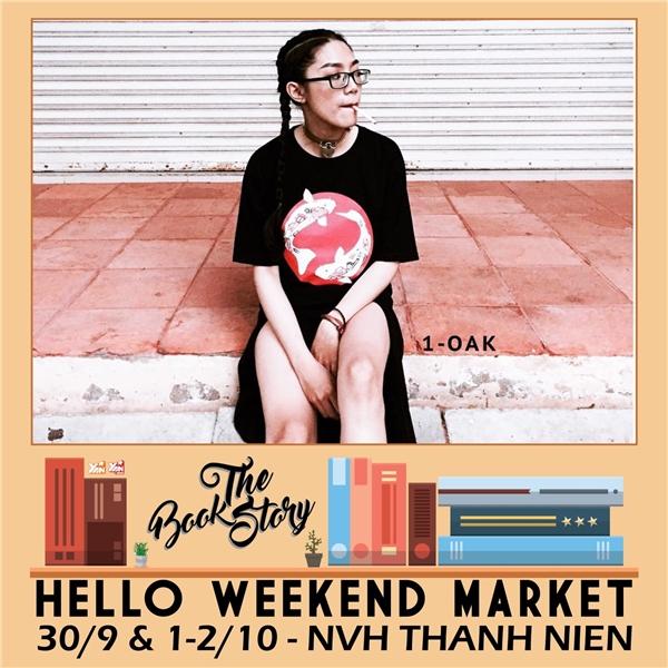 Góc sách ảo vi duyệu của Hello Weekend Market trở lại