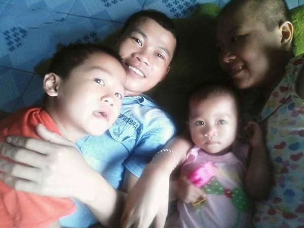 Gia đình chính là động lực tiếp thêm nghị lực choNhư Quỳnhchiến đấu với bệnh tật. (Ảnh: Internet)