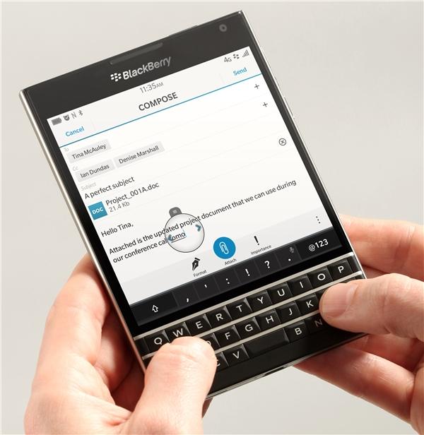 Blackberry chấm dứt hoạt động sản xuất smartphone. (Ảnh: internet)