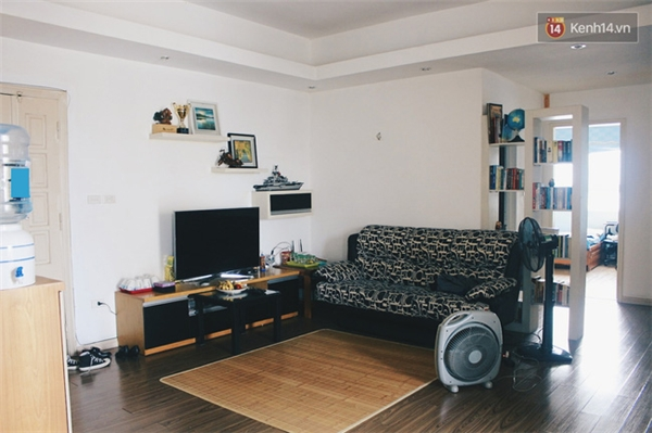 ...đầy đủ đồ nội thất, gia dụng và có 2 buồng ngủ như thế này, giá thuê sẽ là 8-9 triệu đồng.