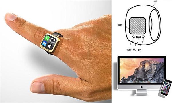 Apple chuẩn bị làm nhẫn thông minh iRing