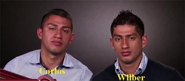 Và còn bất ngờ hơn hai người anh em sinh đôi củahai chàng trai cũng cực kì giống nhau.
