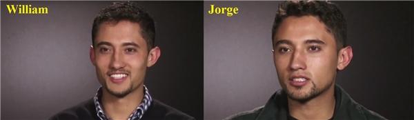 Jorge và Carlos giống nhau như hai giọt nước.