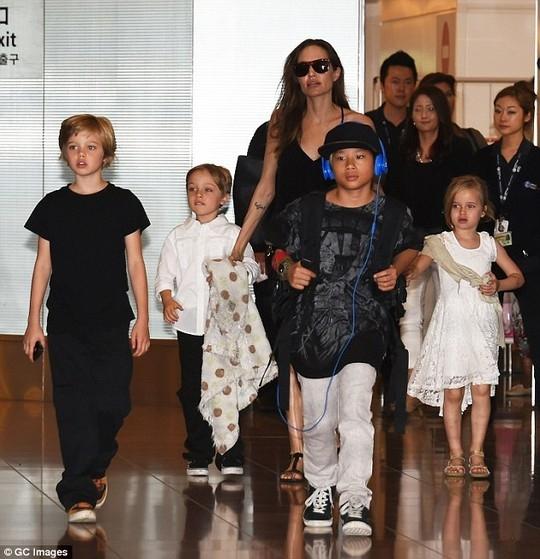 Jolie nhận trách nhiệm sẽ chăm sóc các con sau khi chia tay và cô sẽ làm mọi thứ tốt nhất có thể cho những đứa trẻ.