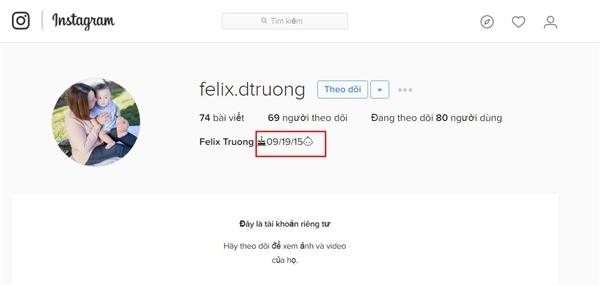 """Theo đó, cộng đồng mạng đã """"khai quật"""" được hình ảnh mẹ Xuân Mai đang ẵm một bé trai kháu khỉnh. Bức ảnh này được đăng tải trên trang Instagram của người dùng tên Felix Trương. - Tin sao Viet - Tin tuc sao Viet - Scandal sao Viet - Tin tuc cua Sao - Tin cua Sao"""