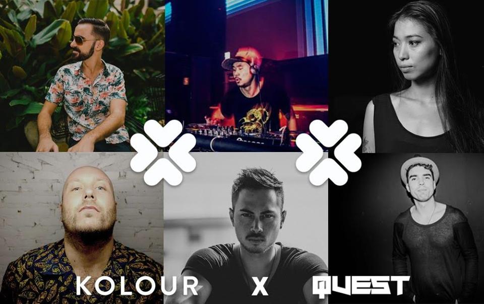 6 gương mặt DJ thuộc nhóm Kolour đến từ Bangkok.