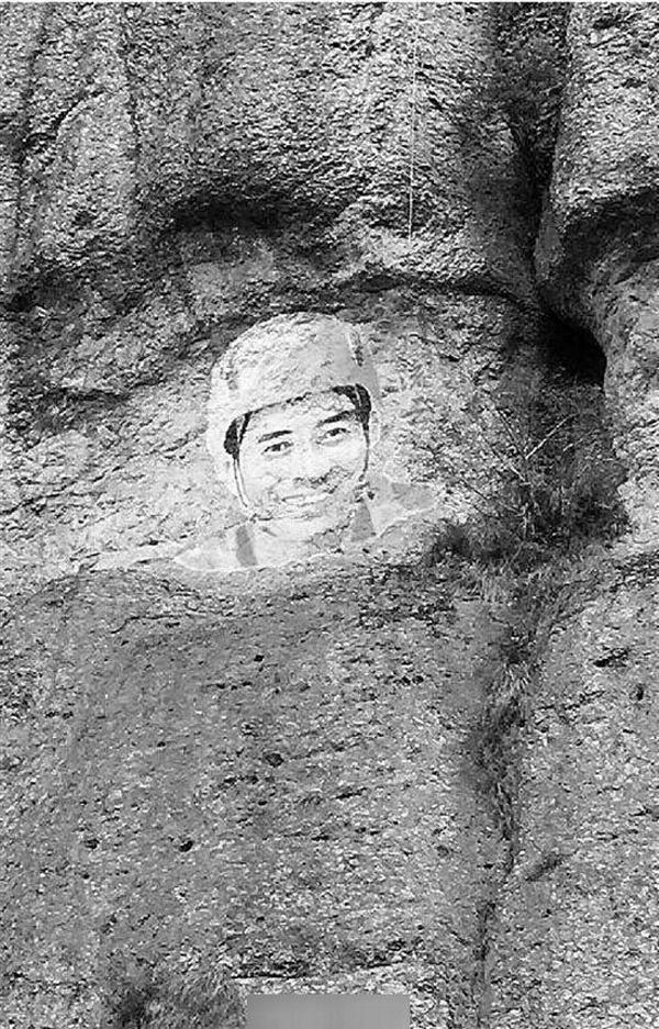Linh Linh mất khoảng hai tháng để hoàn thành tác phẩm đặc biệt ở độ cao hơn 200m này.(Ảnh: Internet)