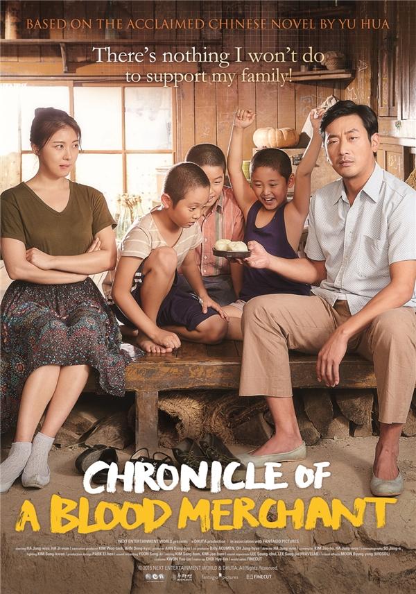 Chronicle of A Blood Merchant (Nhật ký bán máu) tập trung nói về khía cạnh tình cảm của con người ngay sau khi chiến tranh vừa kết thúc. (Ảnh: Internet)