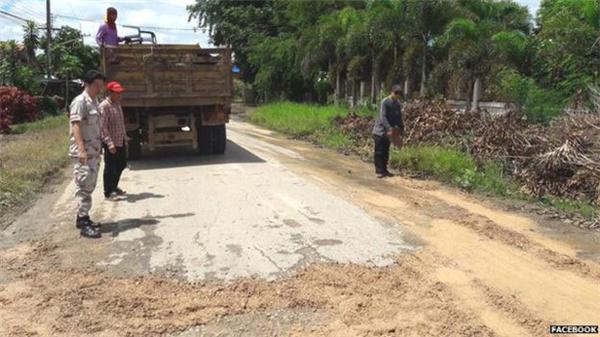 Phản ứng của Palm tỏ ra có hiệu quả khi nhà chức trách nhanh chóng yêu cầu các đơn vị liên quan tu sửa lại con đường.