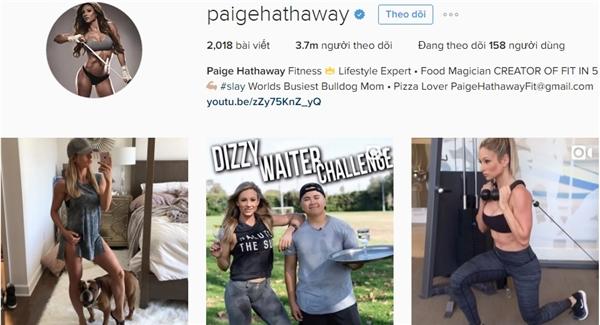 Trang cá nhân của cô thu hút tới hơn 3,7 triệu người theo dõi.