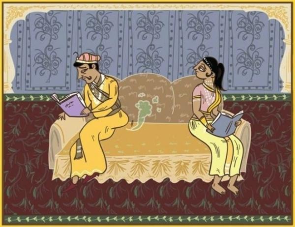 """Khác biệt rõ rệt nhất sau khi kết hôn chính là hai người không còn ngại ngùng với nhau bất kì điều gì nữa. Kể cả việc xì hơi trước mặt nhau cũng là chuyện vô cùng bình thường, lúc này người vợ nên đi tìm một bầu không khí khác """"trong lành"""" hơn."""