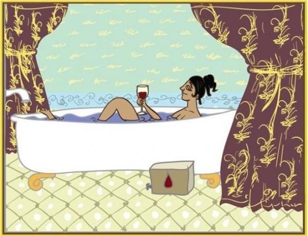 Phụ nữ lúc nào cũng lo lắng chu toàn cho gia đình, nên mấy khi được nghỉ ngơi phải biết tự thưởng cho bản thân mình đấy nhé.