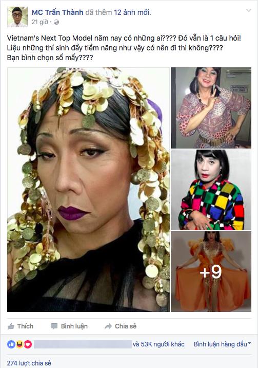 """Trấn Thành hài hước: """"Vietnam's Next Top Model năm nay có những ai???? Đó vẫn là 1 câu hỏi!Liệu những thí sinh đầy tiềm năngnhư vậy có nên đi thi không????Bạn bình chọn số mấy????"""" - Tin sao Viet - Tin tuc sao Viet - Scandal sao Viet - Tin tuc cua Sao - Tin cua Sao"""