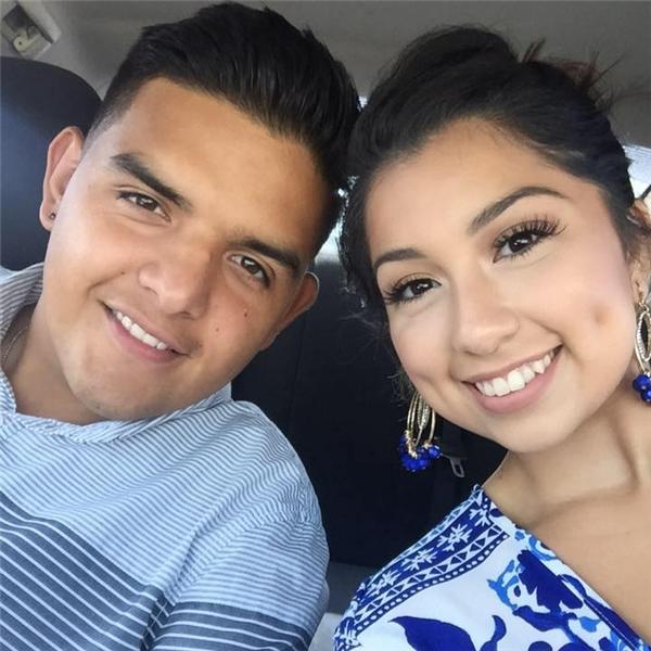 Kristian Nicole Guerrero và chồng mới cưới của mình Fabian Guerrero-Moreno