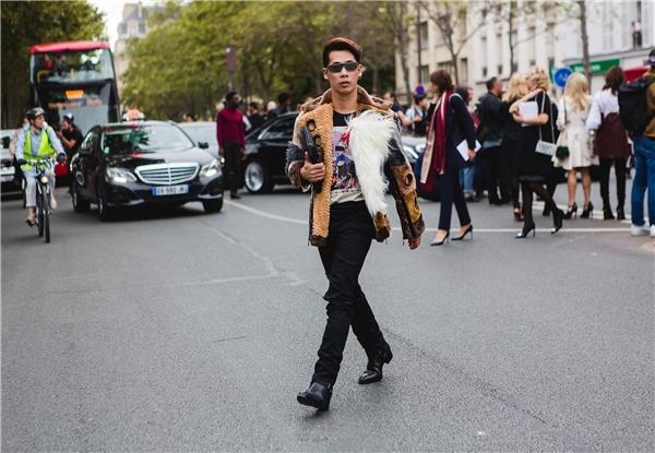 Travis tại Tuần lễThời trang Paris Xuân - Hè 2017