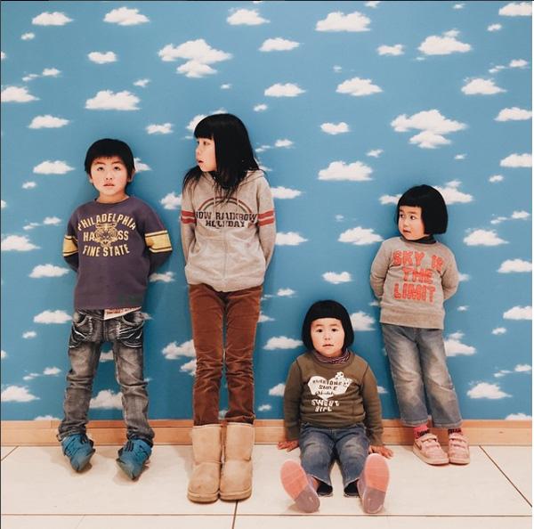 4 nhóc tỳ của nhà Akira Ozawa