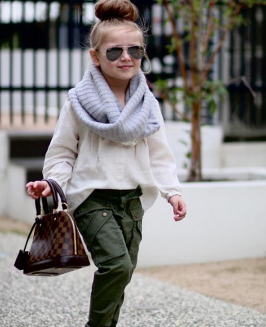 Từ một cô bé đầycá tính, năng động và phong cách...