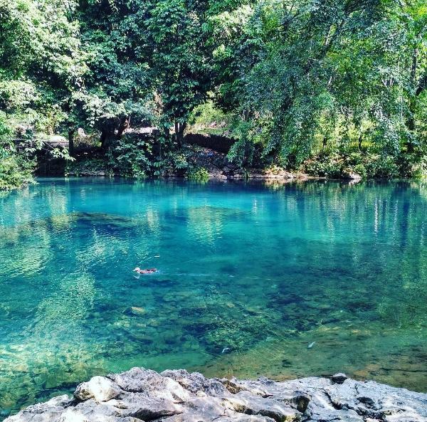 Phong cảnh thiên nhiên hữu tình tại khu di tích Pác Bó