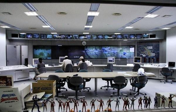 Phòng điều hành trung tâm hệ thống cống thoát nước ngầm G-Cans.