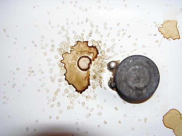 Vết bẩn cà phê.