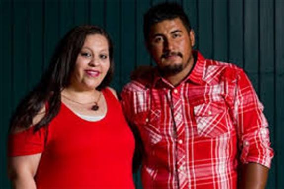 Augustina và Joe (hơn cô 1 tuổi) tình cờ quen biết nhau trong một bữa tiệc và đã phải lòng nhau. (Ảnh: Internet)