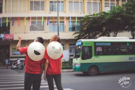 Ý tưởng xuất phát từ một thành viên êkip hiện theo học ở xứ sở Kim Chi Hàn Quốc khi thấy bạn bè quốc tế rất thích chiếc nón lá Việt Nam