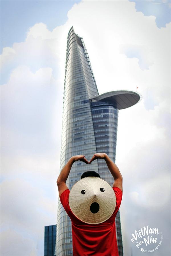 Hay ngỡ ngàng trướcbiểu tượng Bitexco - tòa nhà cao nhất TP.HCM