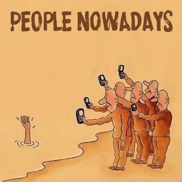 Đừng trách vì sao con người hiện đại thấy chết mà không cứu, chỉ lo chụp ảnh, vì có nhiều người bản thân họ gặp hiểm nguy cũng dừng lại chụp vài tấm selfie mới tìm cách thoát thân.