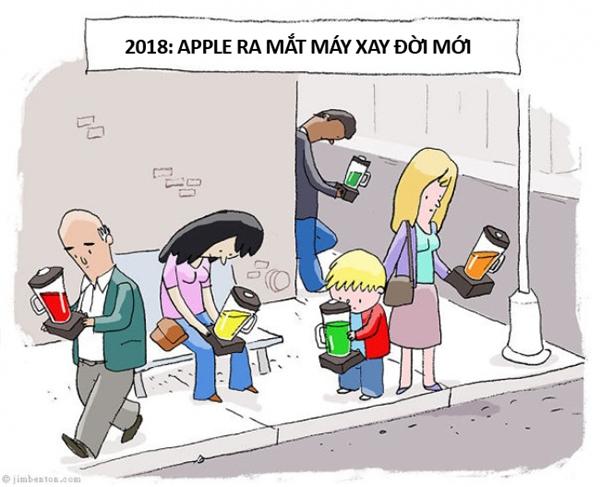 Đối với nhiều người, nghiện smartphone thực chất là nghiện hàng Apple, nghiện tất thảy mọi thứ mà Apple ra mắt.