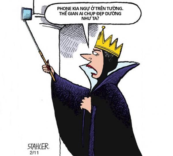 Nếu smartphone và Internet xuất hiện vào thời của nàng Bạch Tuyết thì hẳn là mụ Hoàng hậu độc ác đã giết sạch mọi cô gái trong vương quốc rồi.