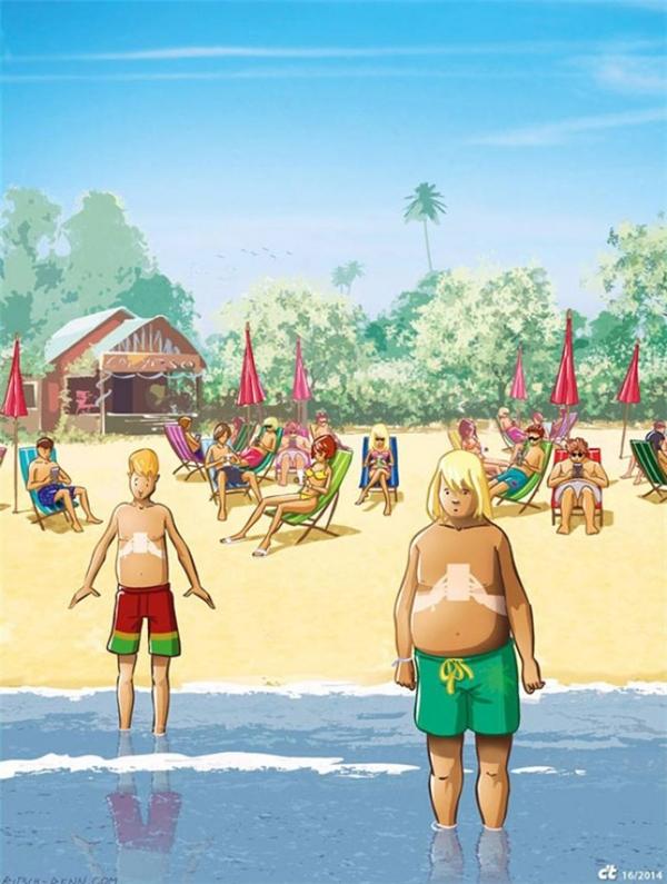 Làn da rám nắng không đồng nghĩa với cơ thể khỏe mạnh.