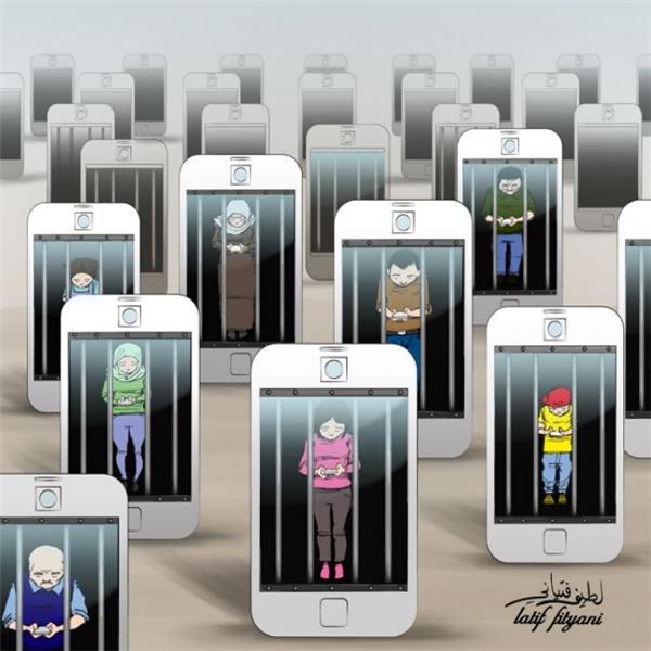 Smartphone, thứ ngục tù ai ai cũng hạnh phúc được nhốt mình vào.