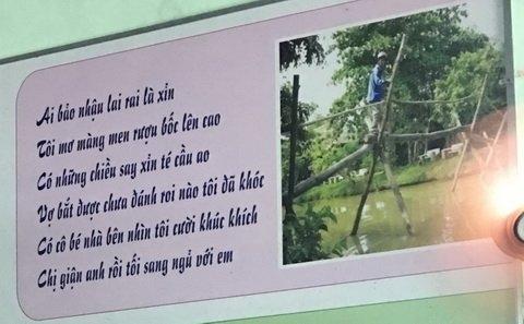 """""""Cười banh nóc"""" với những bài thơ bá đạo từ... toilet đến công trường"""