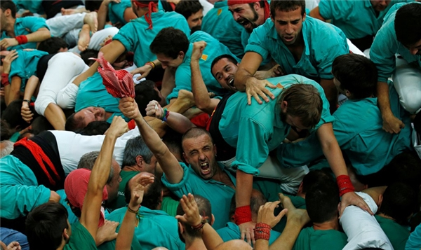 Đội chơiCastellers de Villafranca giành chiến thắng chung cuộc hôm 2/10.