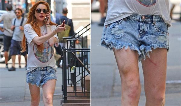 Lindsay Lohan đã trượt dài trong chuỗi ngày đầy tệ nạn với chất kích thích và những mối tình chóng vánh.
