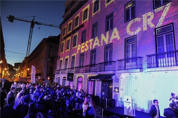Khách sạnPestana CR7 Lisboa của Ronaldo. (Ảnh: internet)