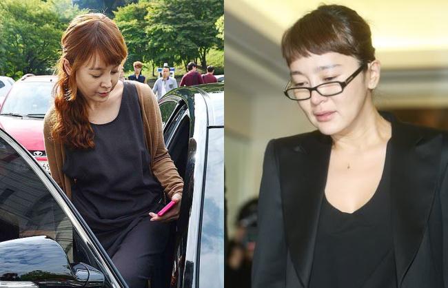 Mệt mỏi vì liên tục hầu tòa, nhan sắc của Lee Seung Yeon ngày càng xuống sắc khiến nhiều người cảm thấy tiếc nuối cho hình tượng ngọc nữ ngày xưa.