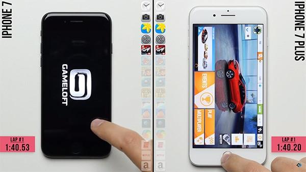 iPhone 7 và iPhone 7 Plus mở ứng dụng và game nặng cực nhanh. (Ảnh: youtube)