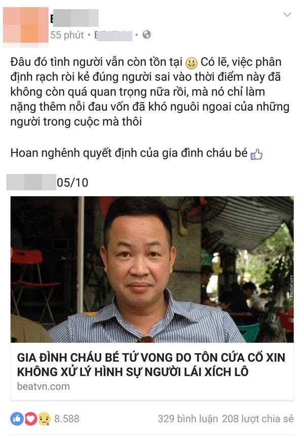 Bài viết được đăng tải kèm hình ảnh của luật sưAnh Thơm.(Ảnh: Internet)