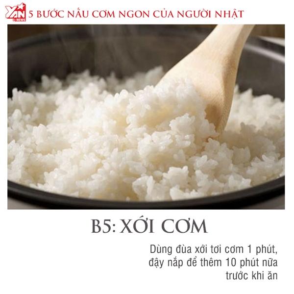 Bật mí 5 bước nấu cơm ngon như Nhật Bản bằng gạo Việt Nam