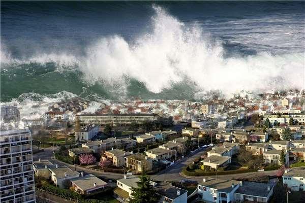 Cơn sóng thần kinh hoàng dâng lên và nhấn chìm tất cả trong phút chốc.